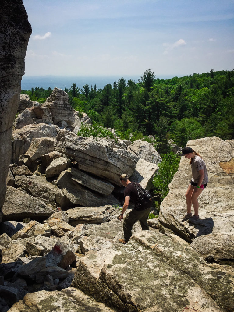 One Path Super >> Mohonk Mountain House Hike - Not Bored NY