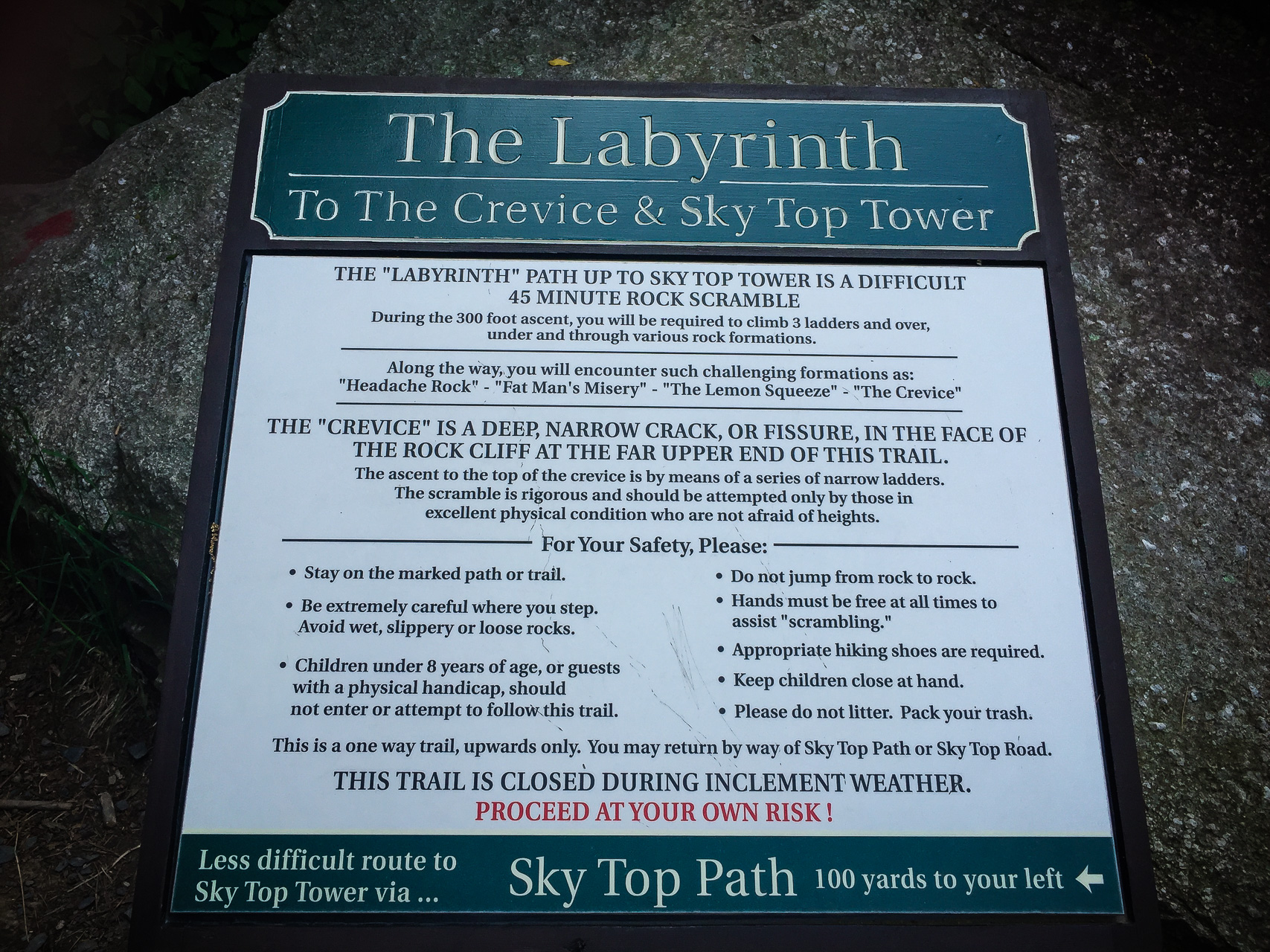 The Labyrinth at the Mohonk Mountain House