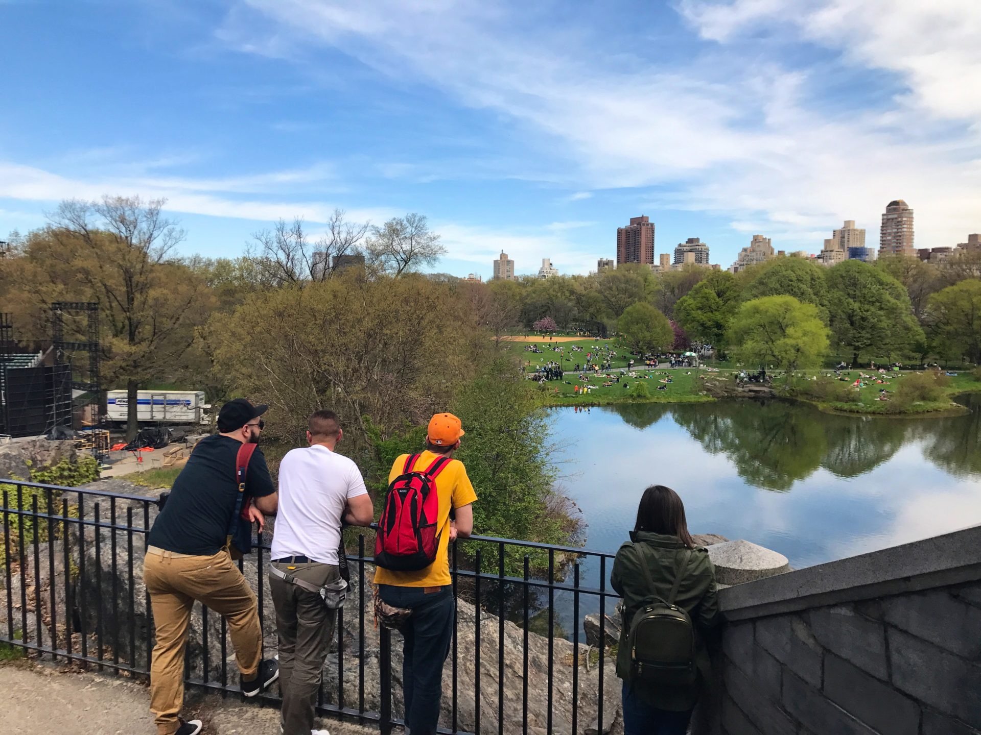 View from Central Park's Belvedere Castle